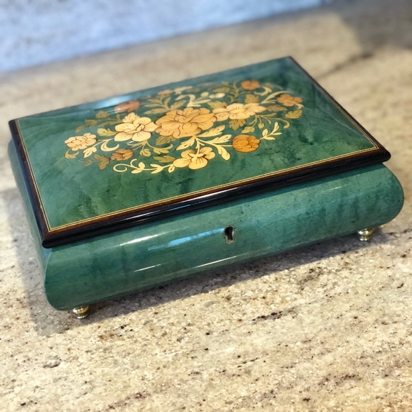 Vintage Reuge Music Jewelry Box